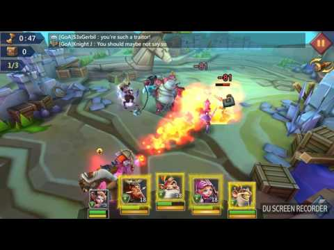 Challenge Stage 3-11 Lords Mobile