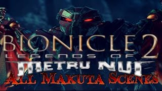 BIONICLE: Legends of Metru Nui | All Makuta Scenes