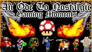 Nostalgia Gaming Moments: A Video Game Poem. Ft Dom's It's All Fun And Games!