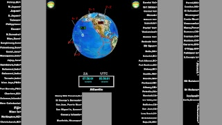 Live Earthquake Monitoring - Monitor The World Live Stream