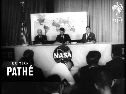 Houston Welcomes Welcomes Astronaut Schirra (1960-1969)