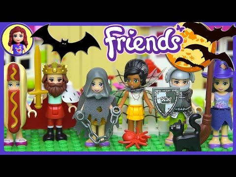 lego-friends-halloween-dress-up-silly-play---kids-toys