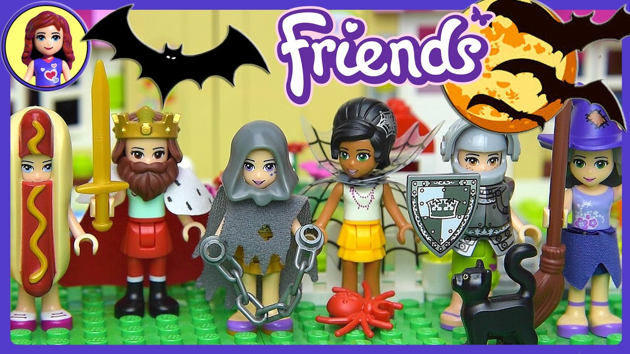 sc 1 st  YouTube & Lego Friends Halloween Dress Up Silly Play - Kids Toys - YouTube