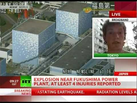 Explosion at Japan's Fukushima nuclear plant, at least 4 injured