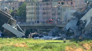 Brückeneinsturz in Genua - wie sicher sind deutsche Brücken?