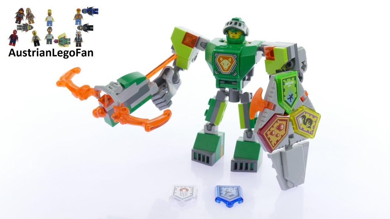 lego nexo knights 70364 battle suit aaron lego speed