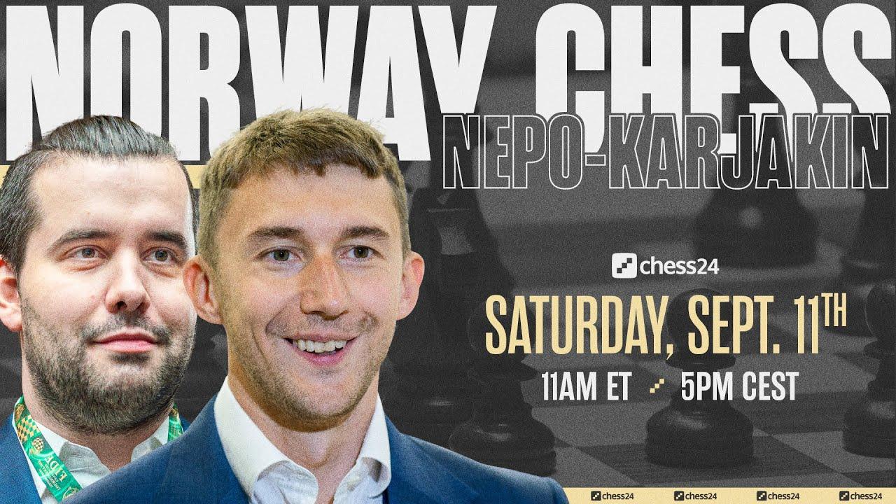 Download 2021 Norway Chess | Nepo-Karjakin | Jovanka Houska & Dirk Jan ten Geuzendam