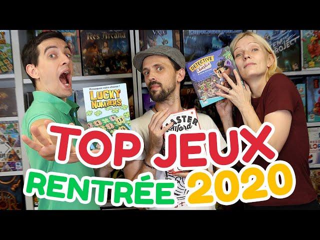 Les meilleurs jeux de société de la rentrée 2020