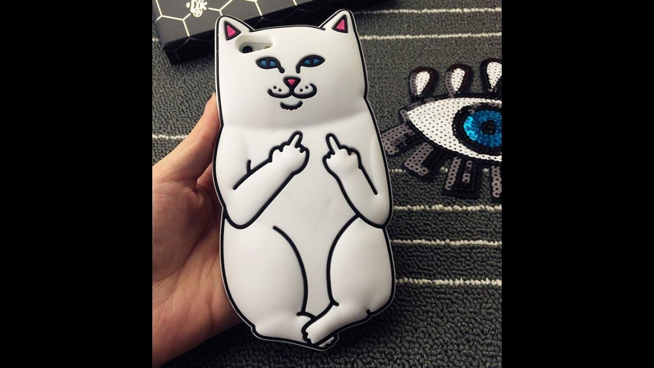 Котик с факью картинка