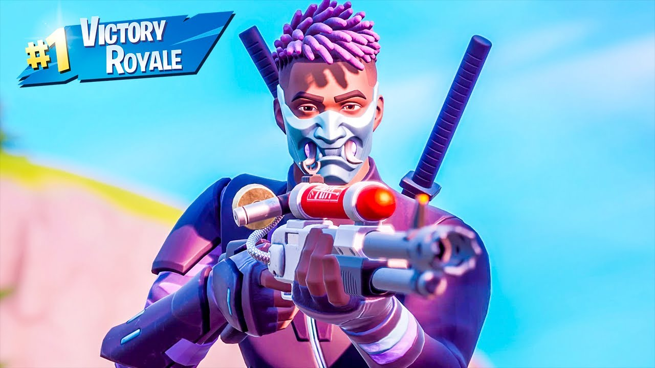 Voyager Fade Skin Solo Win Full Gameplay Fortnite Chapter 2 Season 3 No Commentary PS4 Console