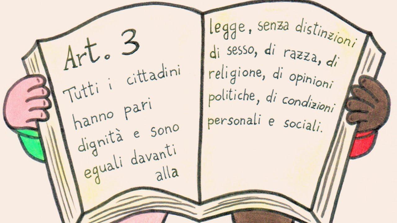 articolo 3 della costituzione italiana youtube On articoli della costituzione