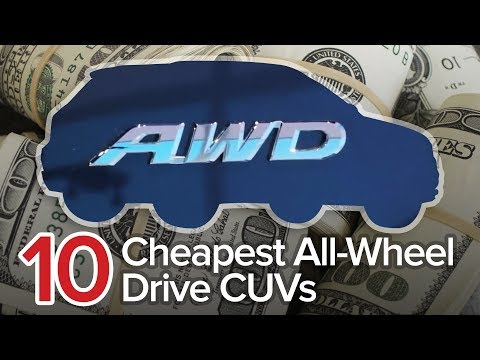 10 Cheapest All Wheel Drive Crossovers The Short List Most Affordable AWD CUVs