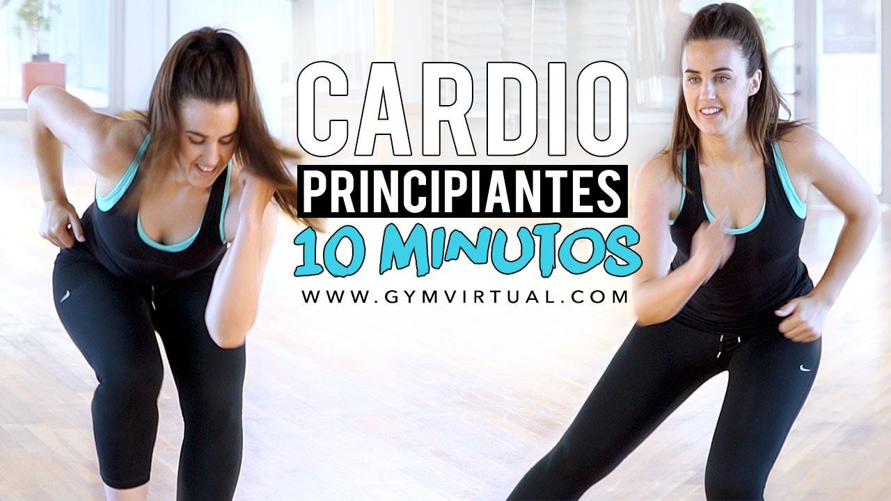10 Minutos De Cardio Ideales Para Principiantes Youtube