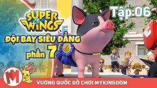 ĐỘI BAY SIÊU ĐẲNG - Phần 7 | Tập 06: Cuộc Đua Heo - Phim hoạt hình SuperWings