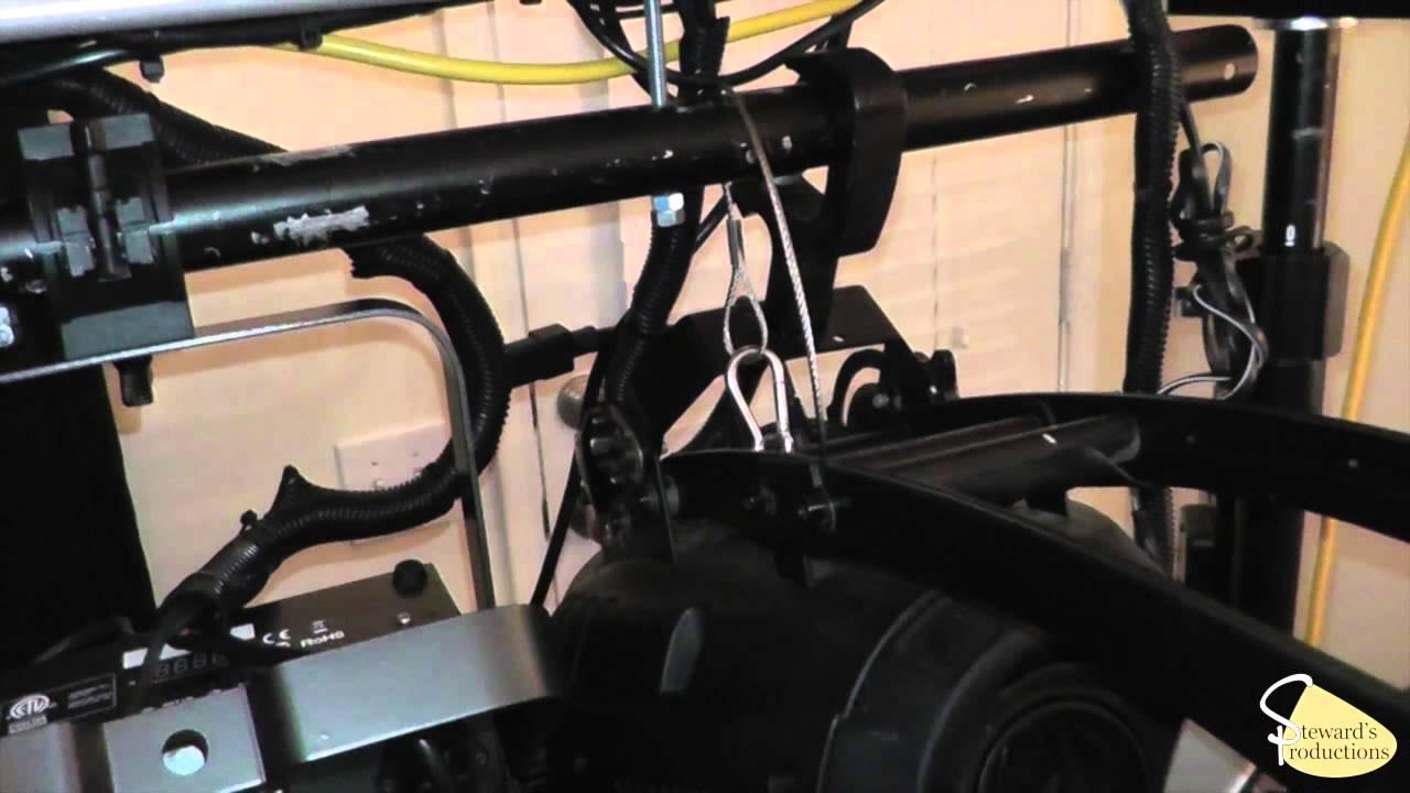 safety cable for lighting dj tip log