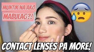 Baixar GRABE! FIRST TIME MAGSUOT NG CONTACT LENSES (Philippines) | Tyra C. ❤