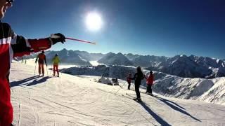 Skiing 2015 in the ALPS Zillertal & Südtirol (GoProHD)