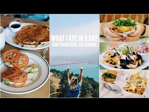 BEST VEGAN FOOD IN SAN FRANCISCO + What I Ate Today!