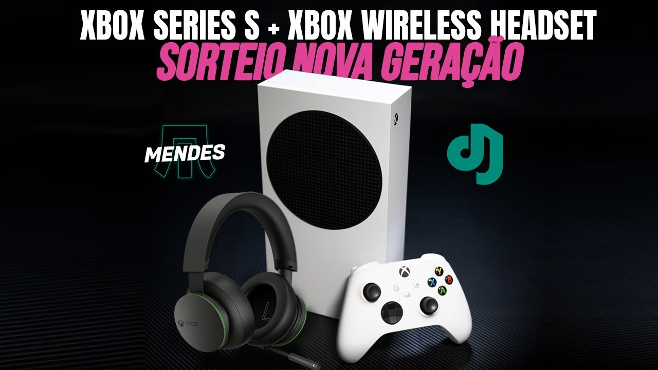 AO VIVO: COMO GANHAR UM XBOX SERIES S + XBOX WIRELESS HEADSET (BATE PAPO COM A GALERA)