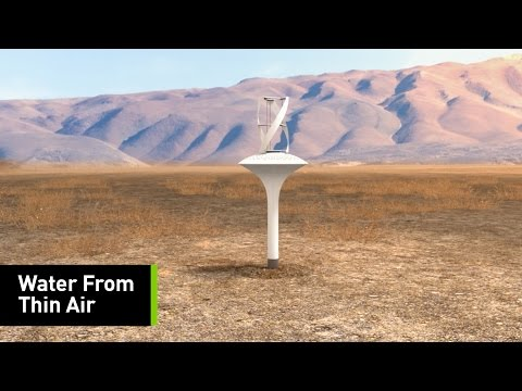 This Wind Turbine Can Produce Water Out Of Thin Air