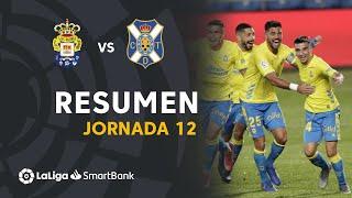 Resumen de UD Las Palmas vs CD Tenerife (1-0)