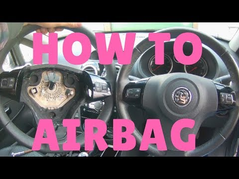 How to Remove Vauxhall Corsa d Steering Wheel Airbag