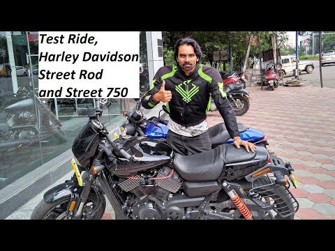 Test Ride, Harley Davidson Street Rod and Street 750. What to BUY .