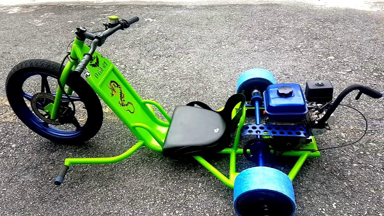meu brinquedo novo drift trike motorizado youtube. Black Bedroom Furniture Sets. Home Design Ideas