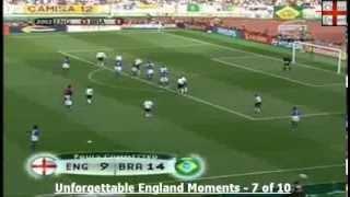 Ronaldinho Free Kick v England - 2002 World Cup