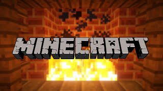MINECRAFT • Relaxing Music with Fireplace Ambience