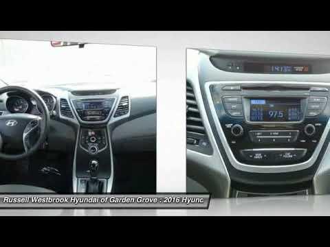 Superb 2016 Hyundai Elantra Garden Grove CA GR06045