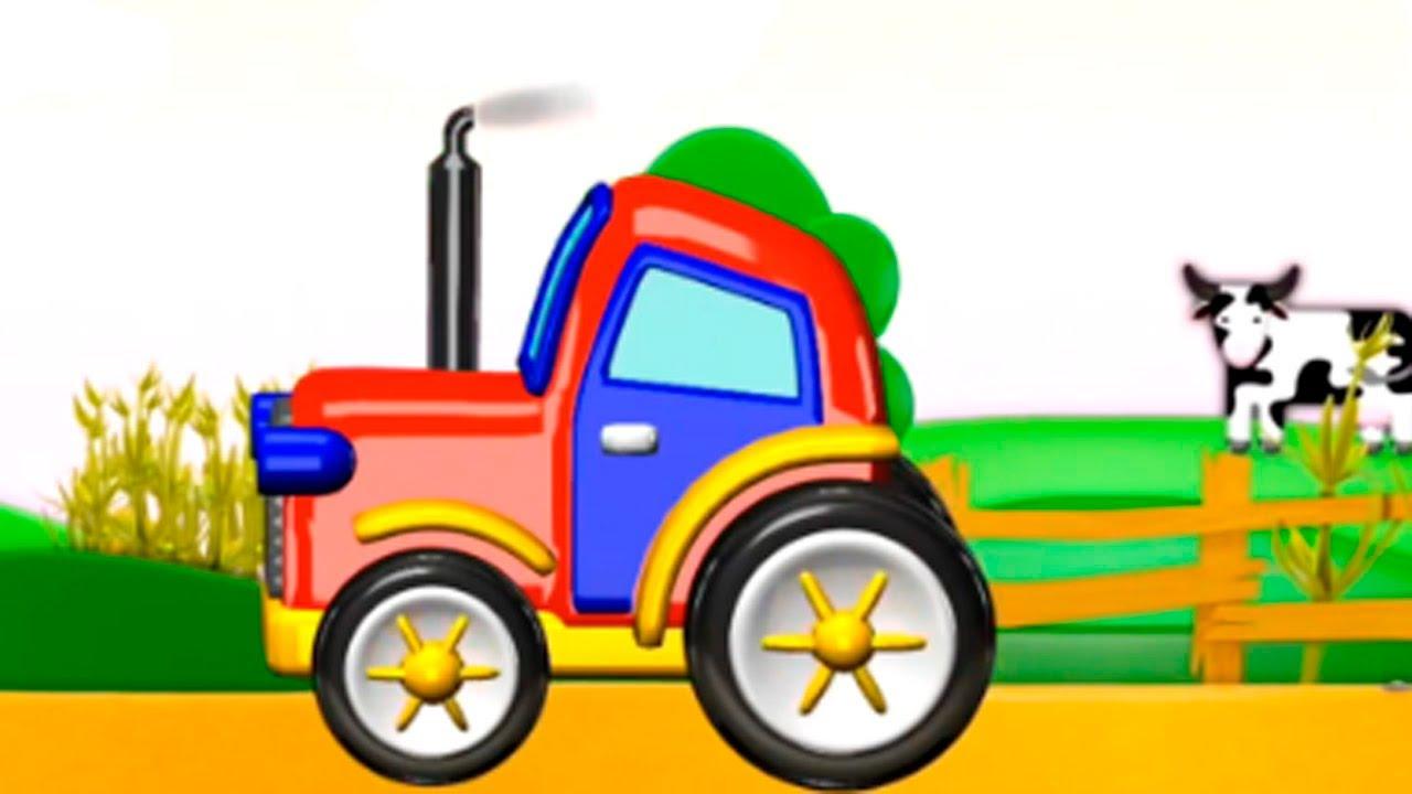 Mon petit tracteur dessin anim en fran ais pour les - Cars et les tracteurs ...