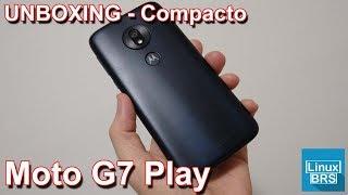 Motorola Moto G7 Play - UNBOXING - Compacto