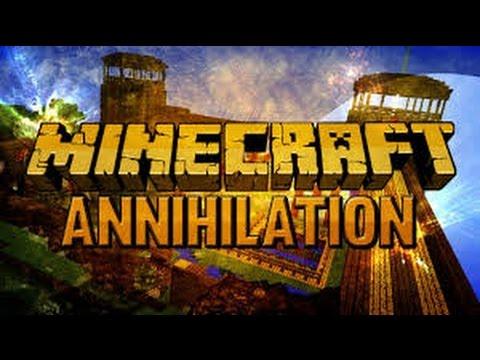 Minecraft-Annihilation #1 [Fail jak prase]