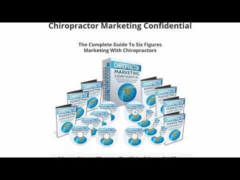 """Chiropractor Marketing Confidential"" + $106 Prize Contest"