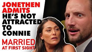 Jonethen Admits He's Not Attracted To Connie | Mafs 2020