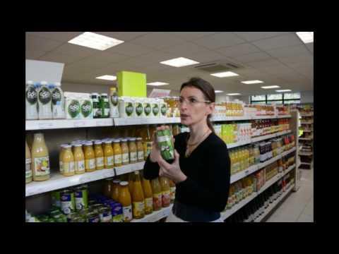 Atelier magasin bio 2, les boissons