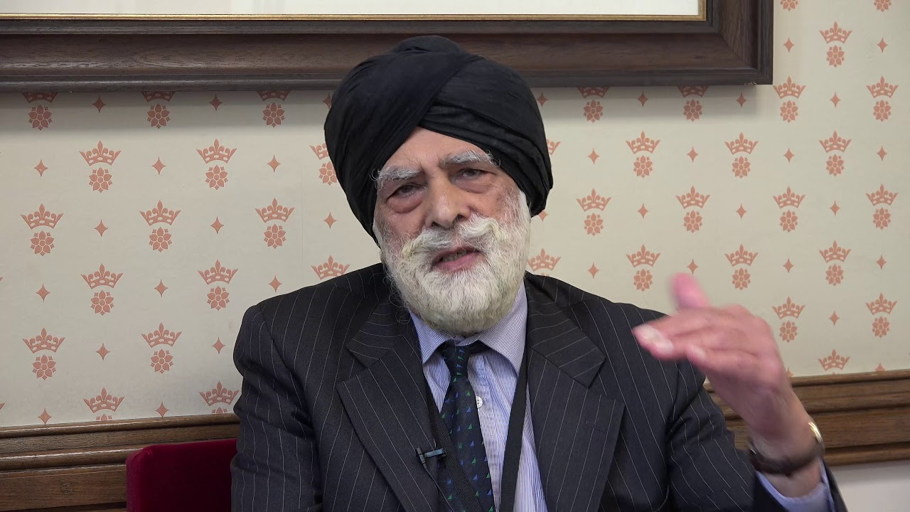 Lord Singh of Wimbledon declares his support for June 30 'Free Iran' gathering in Paris