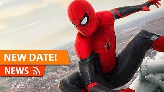 Spider-Man Far From Home gets NEW Release Date