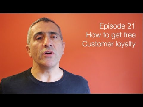 Customer loyalty doesn't have to cost money