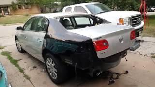 Wrecked Buick Repair video 4