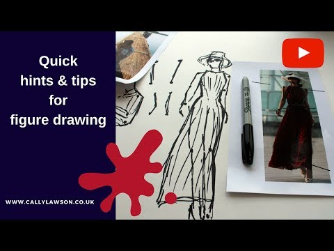 How to draw people – Hints & tips for beginners figure painting.