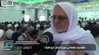 مصر العربية | الشخصيات العامة فى سورية تدعم