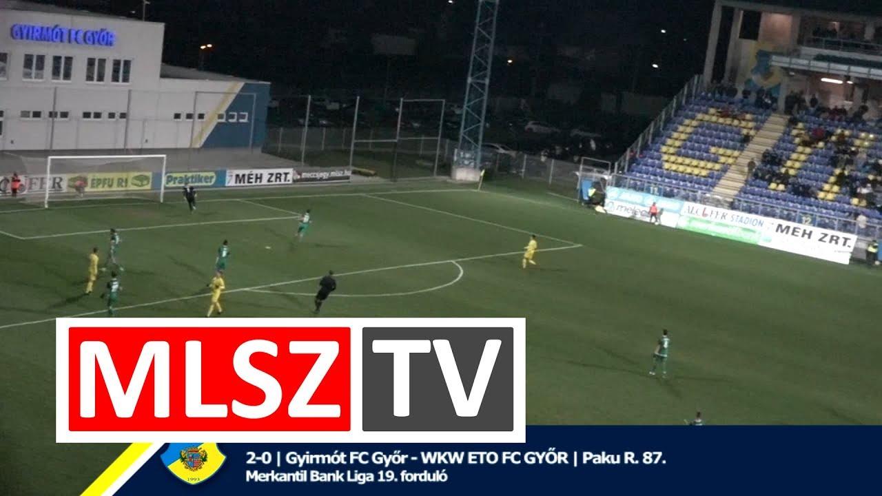 Gyirmót FC Győr - WKW ETO FC Győr |2-0 (0-0) | Merkantil Bank Liga NB II.| 19. forduló |