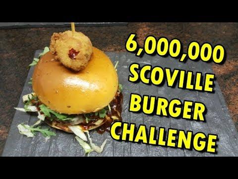 6,000,000 Scoville Burger Challenge