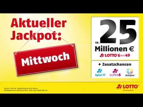 Jackpot Lotto Mittwoch