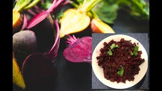 Quick delicious beetroot curry. Easy to cook and with more iron vitamin
