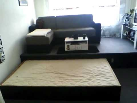 bett elektrisch youtube. Black Bedroom Furniture Sets. Home Design Ideas