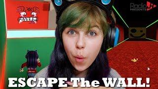 Escape THE WALL With No Cheats - Roblox
