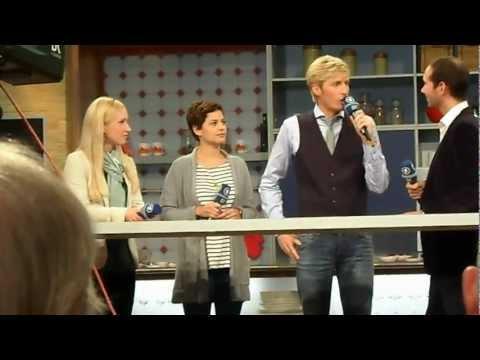 Melanie Kogler, Tatjana Kästel und Claus Thull-Emden bei der IFA in Berlin